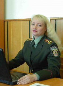 Сахнік Олена Володимирівна | Перший заступник начальника центру, начальник навчального відділу центру